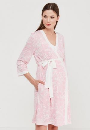 Комплект Euromama. Цвет: розовый