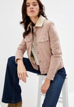 Куртка джинсовая Pennyblack ALIBI. Цвет: розовый