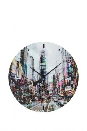 Часы настенные, диаметр 80 см Kare. Цвет: серый