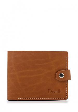Кошелек Divalli. Цвет: коричневый