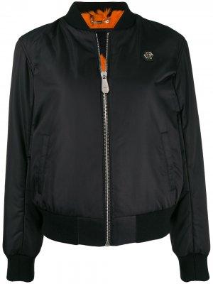 Куртка-бомбер Space Philipp Plein. Цвет: черный