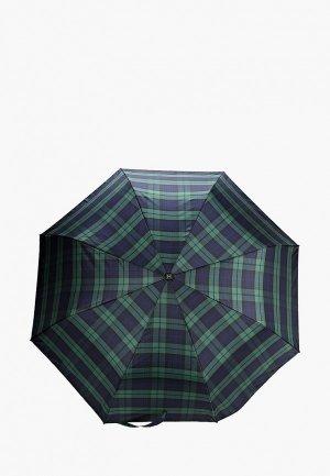Зонт складной Zemsa. Цвет: зеленый