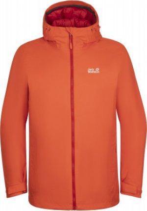 Куртка утепленная мужская Jack Wolfskin Frosty Morning, размер 44. Цвет: оранжевый