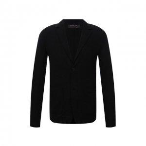 Шерстяной пиджак Transit. Цвет: чёрный