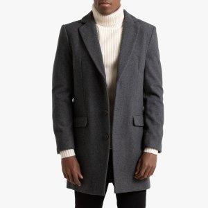 Пальто La Redoute. Цвет: серый