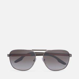 Солнцезащитные очки 53XS-7CQ02M-2N Prada Linea Rossa. Цвет: серый