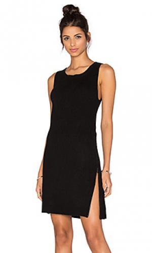 Платье свитер alexa BB Dakota. Цвет: черный