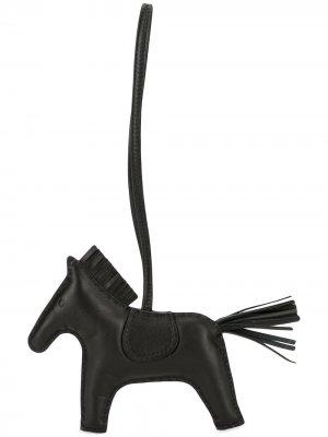 Подвеска Acc De Sac Rodeo MM Agneau Milo pre-owned Hermès. Цвет: черный