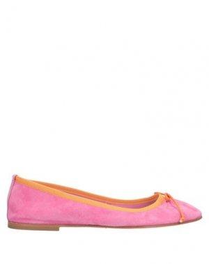 Балетки BALLERINA. Цвет: розовый