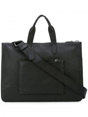 Сумка для ноутбука Metropolitan Coach. Цвет: черный