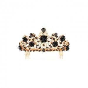Диадема Dolce & Gabbana. Цвет: чёрный