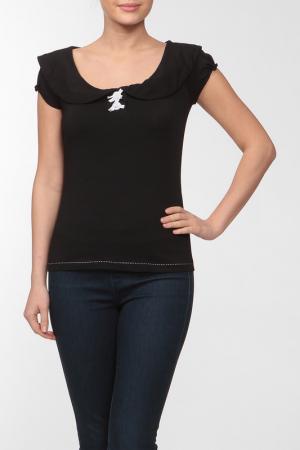 Блуза с круглым воротником AP. Цвет: none