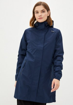Плащ Helly Hansen W VALKYRIE JACKET. Цвет: синий