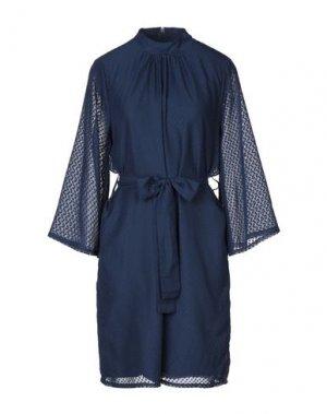 Платье до колена DRY LAKE.. Цвет: темно-синий
