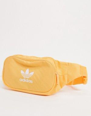 Оранжевая сумка-кошелек на пояс essentials-Оранжевый цвет adidas Originals