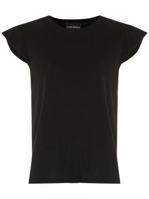 Однотонная футболка Andrea Bogosian