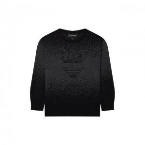 Пуловер Emporio Armani. Цвет: чёрный