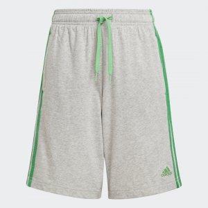 Шорты Essentials 3-Stripes Performance adidas. Цвет: зеленый