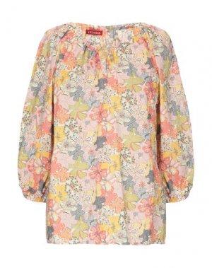 Блузка FEMME by MICHELE ROSSI. Цвет: желтый
