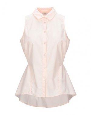 Pубашка GUESS. Цвет: светло-розовый