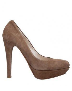 Туфли LEFT AND RIGHT. Цвет: светло-коричневый