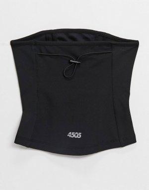 Неквормер для бега с маской лица -Голубой ASOS 4505