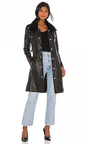 Пальто thunderbird Understated Leather. Цвет: черный