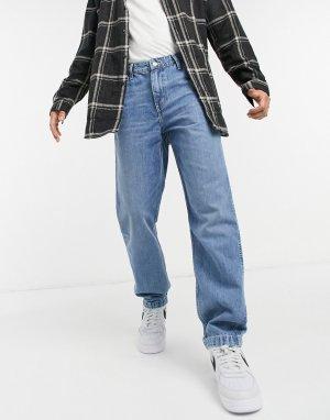 Суженные книзу синие джинсы в рабочем стиле Levis Youth-Голубой Levi's