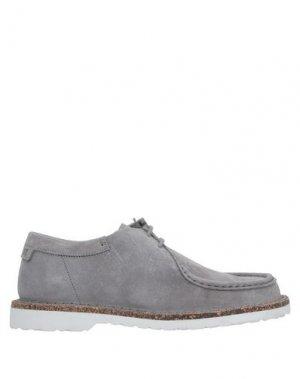 Полусапоги и высокие ботинки BIRKENSTOCK. Цвет: серый