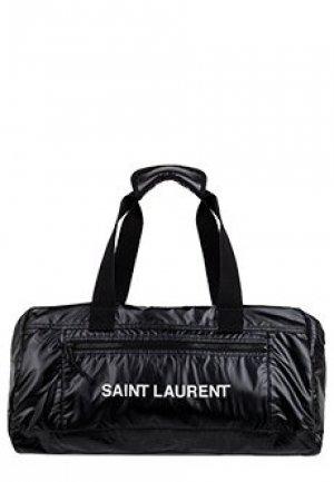 Спортивная сумка SAINT LAURENT. Цвет: черный