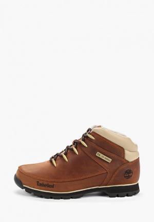 Ботинки Timberland Euro Sprint Hiker BROWN. Цвет: коричневый