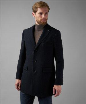 Пальто HENDERSON. Цвет: синий