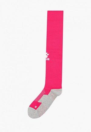 Гетры Kelme Elastic Mid-Calf Football Sock. Цвет: розовый