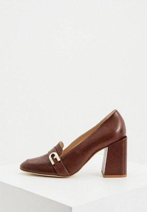 Туфли Furla. Цвет: коричневый
