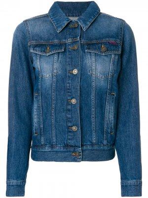 Джинсовая куртка Hyper Kenzo. Цвет: синий