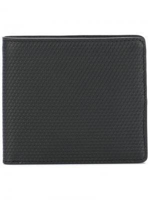 Плоский бумажник Pierre Hardy. Цвет: чёрный