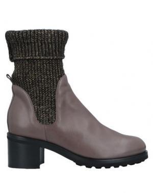 Полусапоги и высокие ботинки ALBERTO FERMANI. Цвет: светло-коричневый