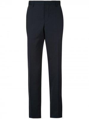 Классические брюки кроя слим Cerruti 1881. Цвет: черный