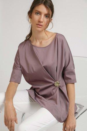 Блузка со складкой EMKA