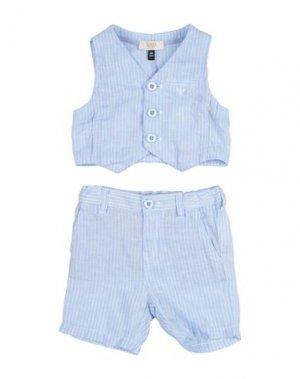 Комплект для малыша ARMANI JUNIOR. Цвет: небесно-голубой