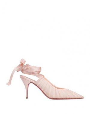 Туфли CHRISTIAN LOUBOUTIN. Цвет: светло-розовый