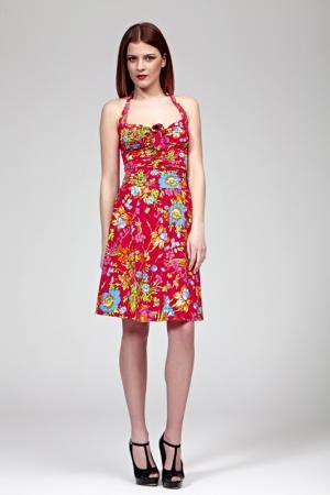 Платье Burani Collezioni. Цвет: мультицвет