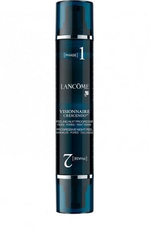 Ночной двухфазный пилинг для кожи лица Visionnaire Crescendo Lancome. Цвет: бесцветный