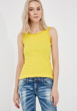 Майка Max&Co. Цвет: желтый