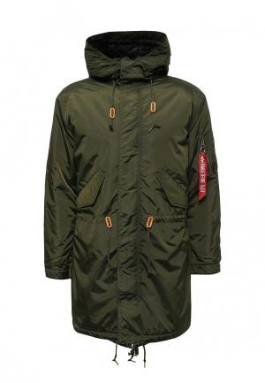 Парка Alpha Industries AL507EMUHL16. Цвет: хаки