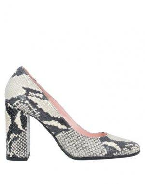 Туфли ANNA F.. Цвет: светло-серый