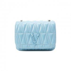 Сумка Virtus Versace. Цвет: синий