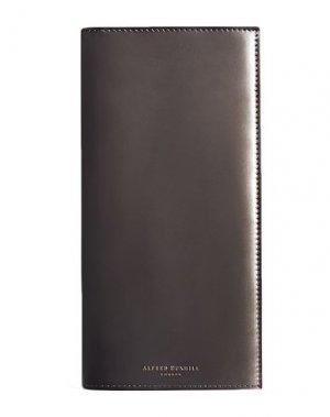 Бумажник DUNHILL. Цвет: серебристый
