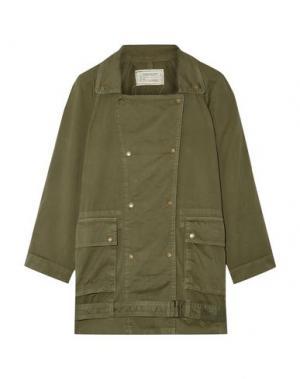 Легкое пальто CURRENT/ELLIOTT. Цвет: зеленый-милитари
