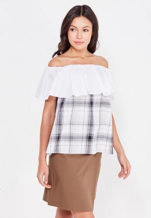 Блуза Ли-лу. Цвет: серый